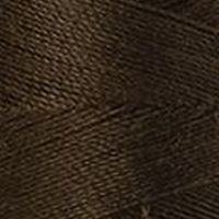 Polyester Garn dunkelbraun 200m