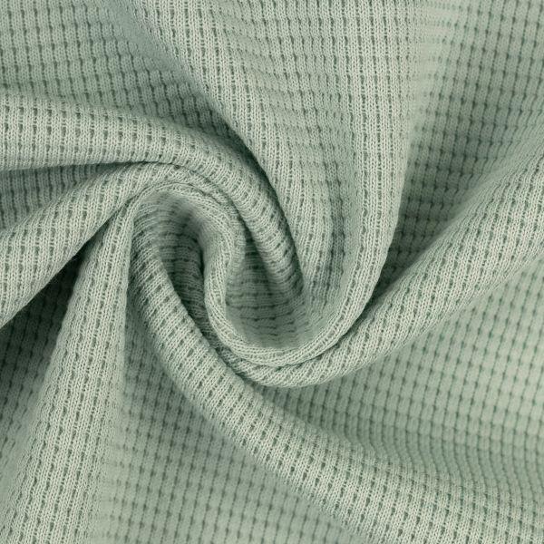 Clarissa Waffelstrick Jersey mint