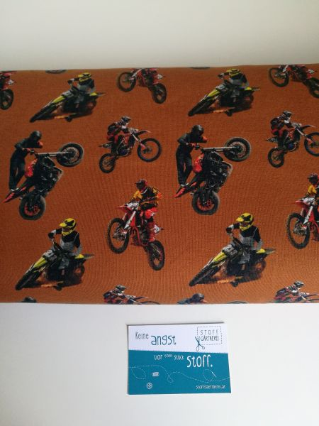 Motocross rost French Terry