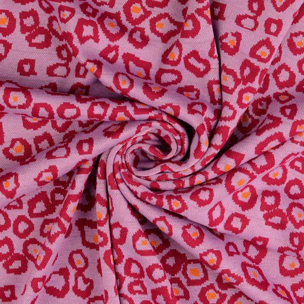 Leo Jacquard Jersey rosa