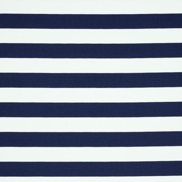 Stripes navy/white Baumwolle