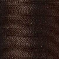 Polyester Garn dunkelbraun 125m extra stark