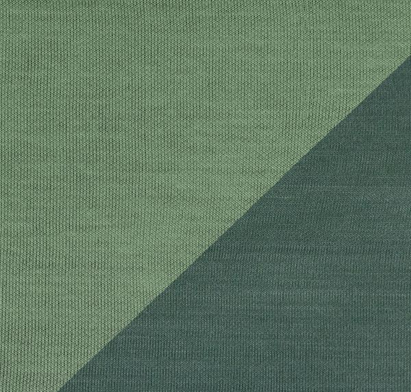 Ida Interlockjersey Doubleface grün