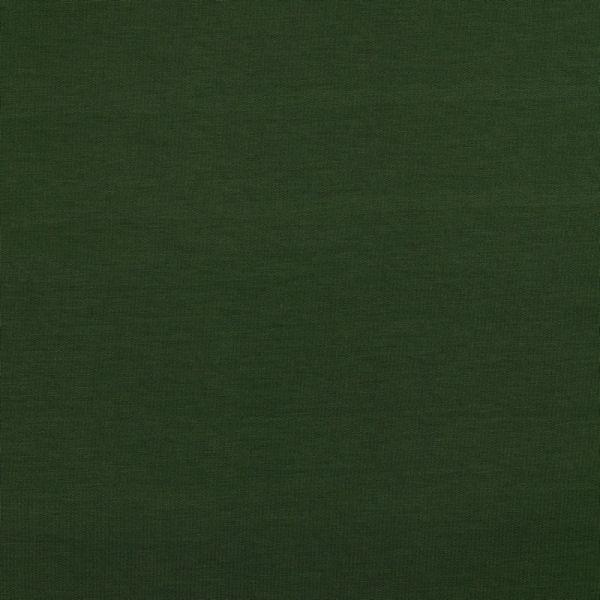 Modalsweat uni dunkelgrün