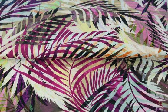 Blätter violett Jersey