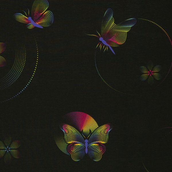 Lines & Dots Schmetterlinge Modalsweat