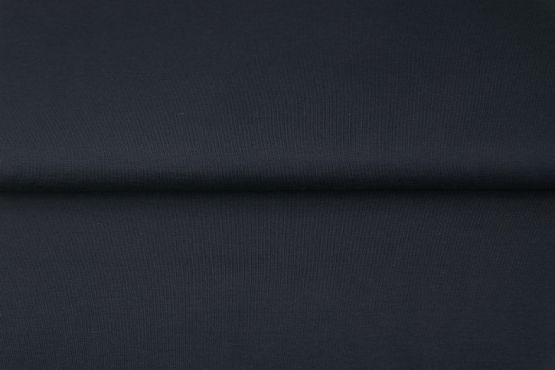 Jersey dunkelblau uni