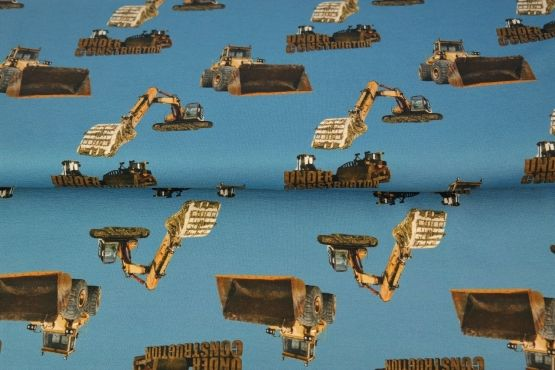 Under Construction blau Jersey