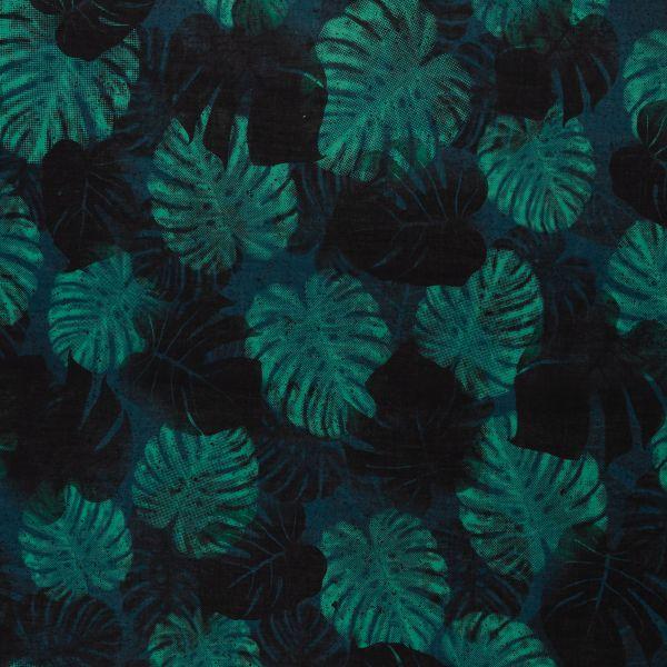 Jungle Network schwarz/grün Baumwolle