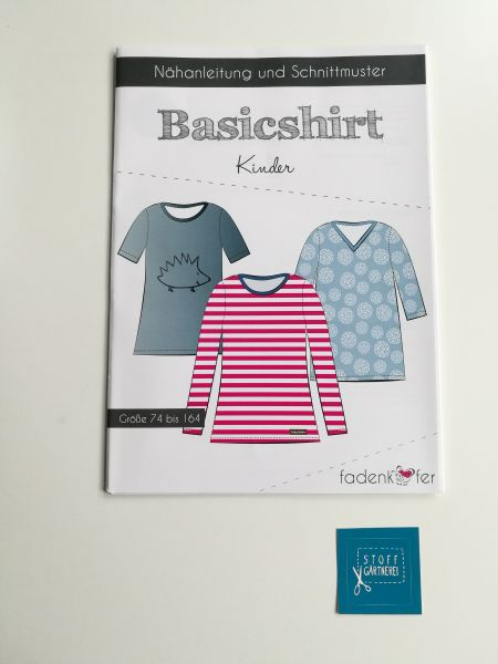 Basic-Shirt für Kinder