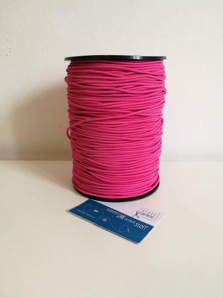 Elastikkordel 2,2 mm pink