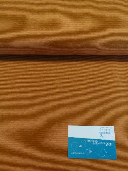 Ringeljersey senf - Reststück 0,8m