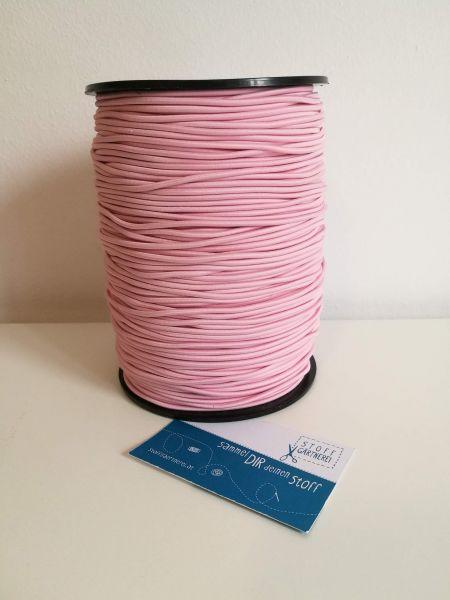 Elastikkordel 2,2 mm rosa