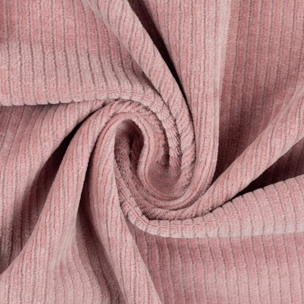 Cord-Jersey rosa