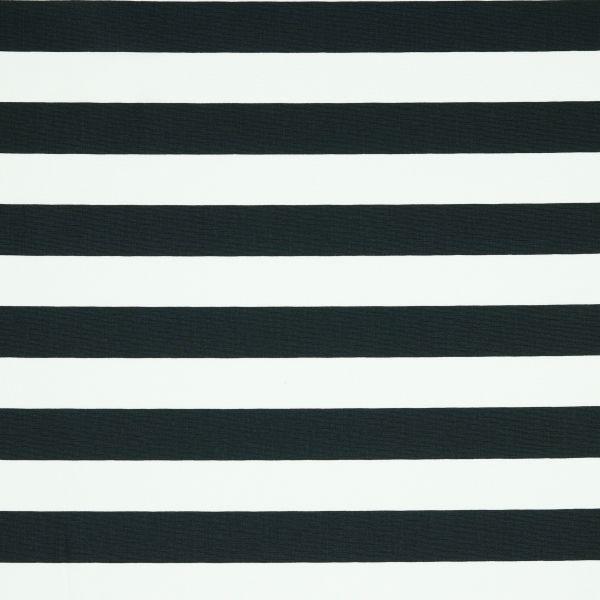 Stripes black/white Baumwolle