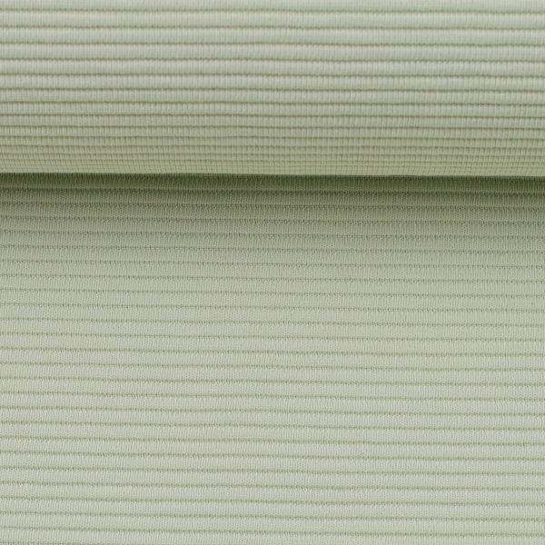 Strukturjersey Femke gerippt hellgrün