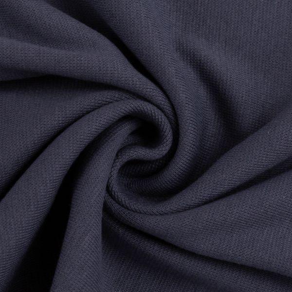 Bündchen glatt graublau