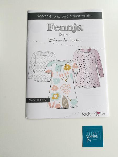 Bluse oder Tunika Fennja für Damen