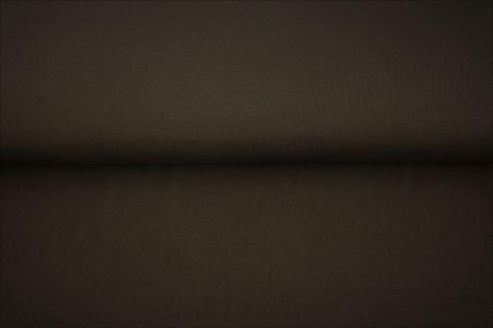 Bündchen glatt dunkelbraun