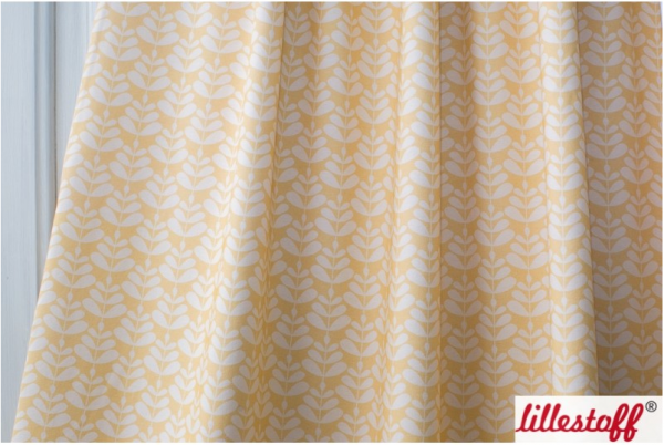 Charlotta yellow Jersey organic Reststück 0,75m