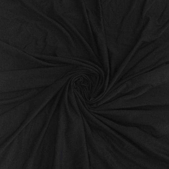 Bambusjersey schwarz organic
