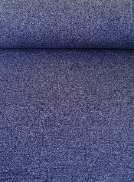 Viola Bündchen glatt blau meliert
