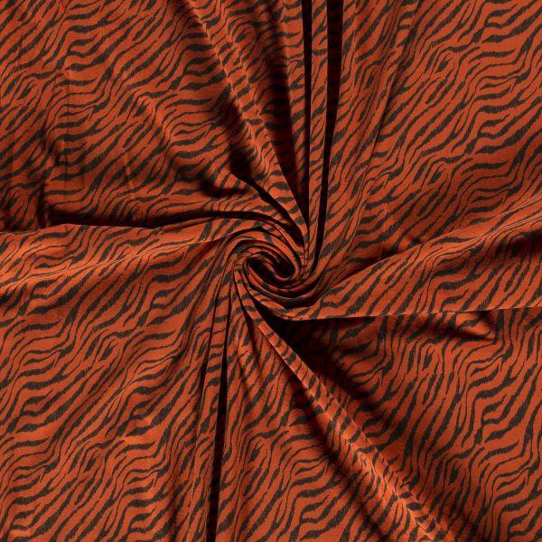 Tiger rost/schwarz Jersey