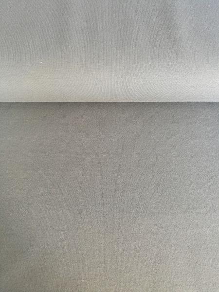 Sweat grau uni - Reststück 0,6m