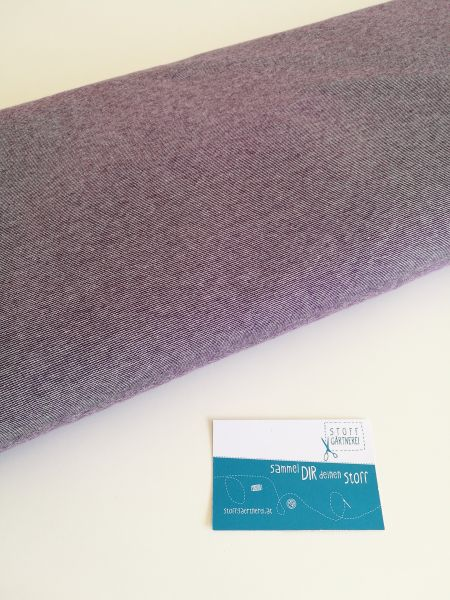 Summer Mélange violett Jersey organic