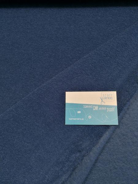 Fleece Boby dunkelblau Reststück 0,60m