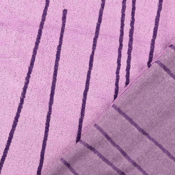 Frotteejacquard violett