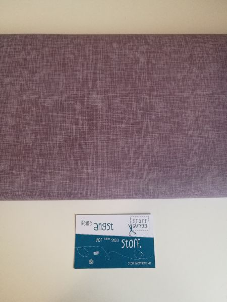 Quilters Linen orchid Baumwolle