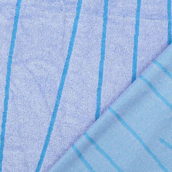Frotteejacquard blau/türkis