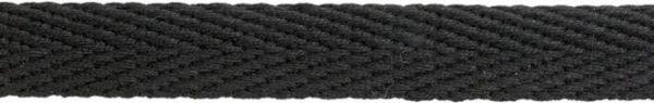 Hoodieband 15mm schwarz