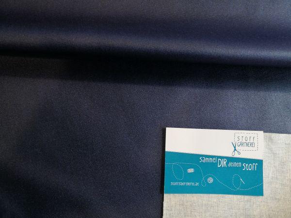 Beschichtete Baumwolle blau