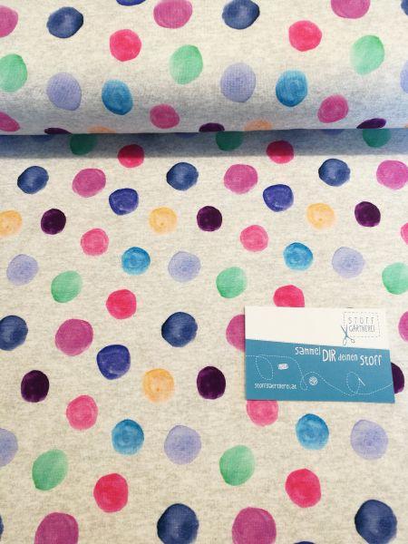 Colourdots Jersey - Reststück 0,6m