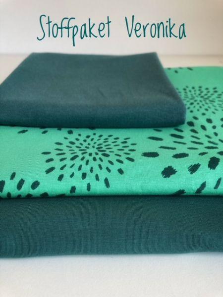 Stoffpaket Veronika grün