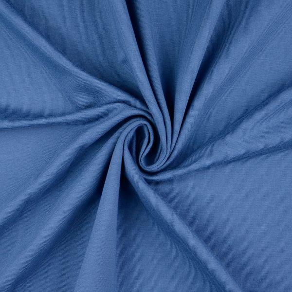 Sommersweat uni blau