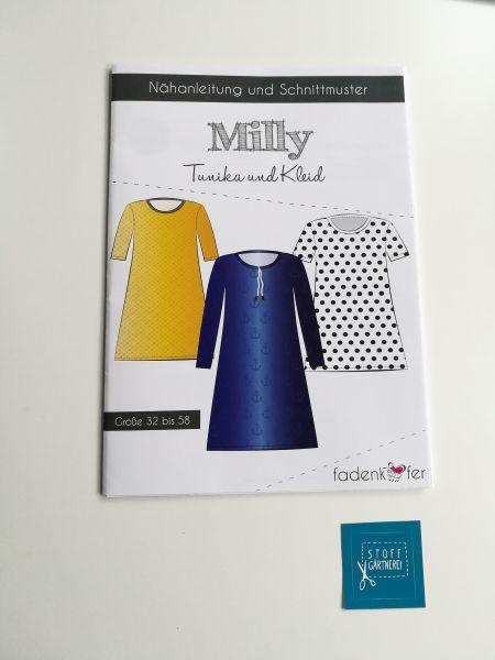 Kleid und Tunika Milly für Damen