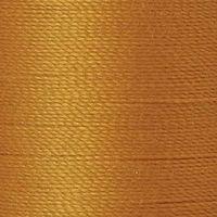 Polyester Garn ocker 125m extra stark