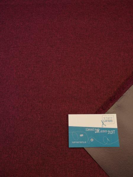 Canvas bordeaux melange mit PVC-Coating