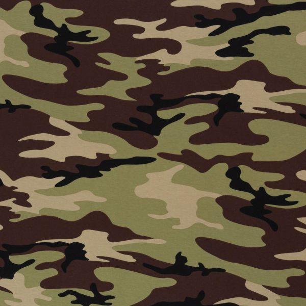 Camouflage grün/braun Jersey