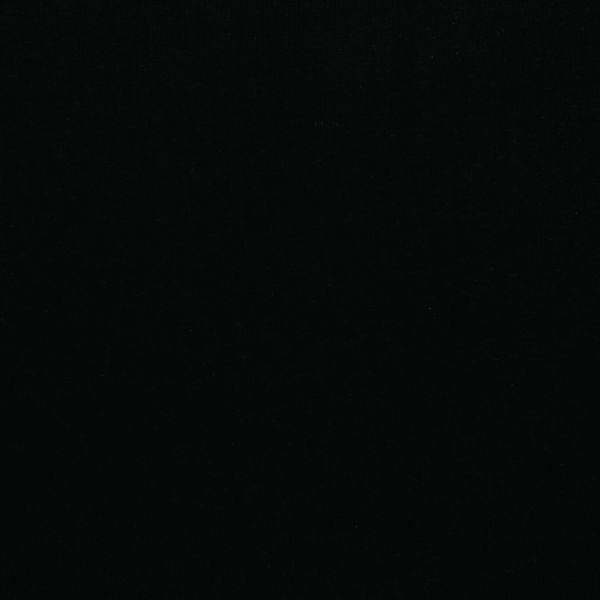 Leinenjersey uni schwarz