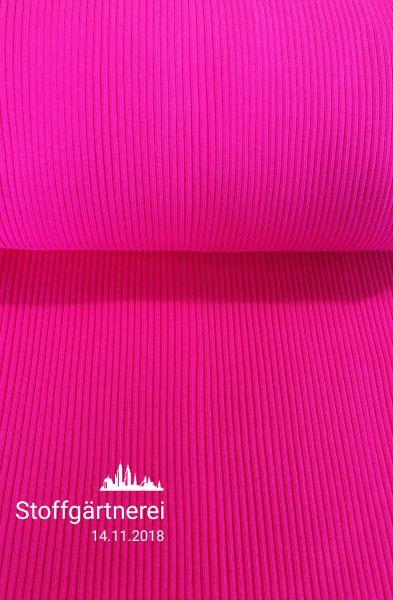 Strickbündchen pink