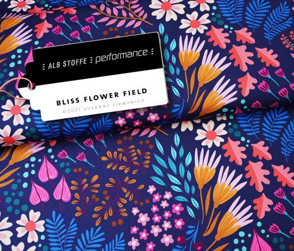 Performance Active Wear Flower Field