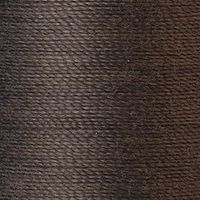 Polyester Garn dunkelgrau 125m extra stark
