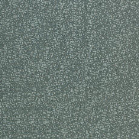 Dotty smaragd Baumwolle - Reststück 0,7m