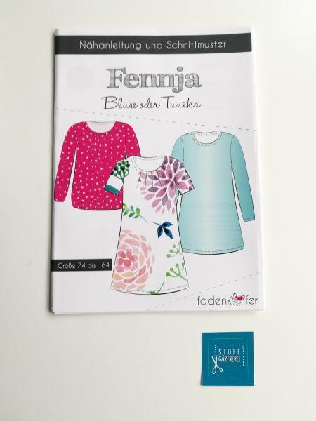 Bluse oder Tunika Fennja für Kinder