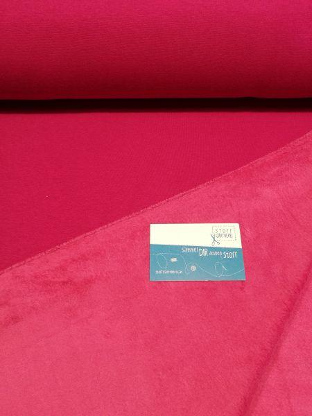 Alpenfleece uni pink