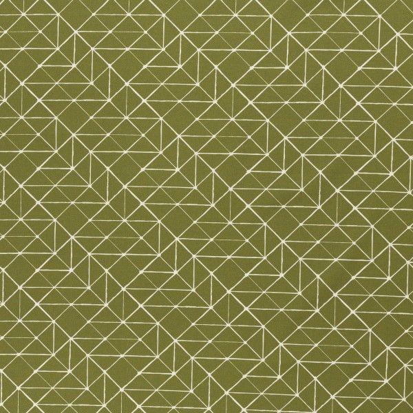 Kurt Grafik grün Baumwolle